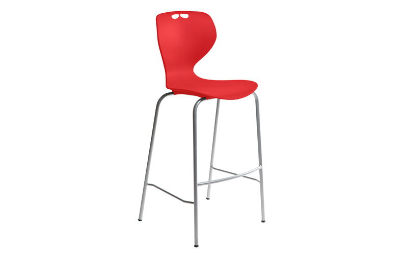 Mata Barstool Red